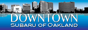 Downtown Subaru of Oakland Logo