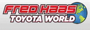 Fred Haas Toyota World Logo