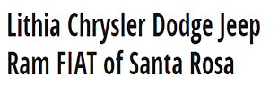 Logo | Lithia Chrysler Jeep Dodge of Santa Rosa