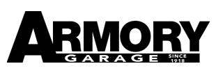 Armory Garage Logo