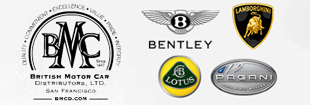 Bentley Lamborghini and Lotus San Francisco Logo