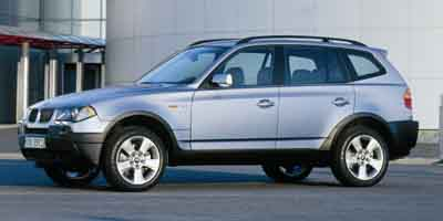 2004 BMW X3 2.5i Wagon