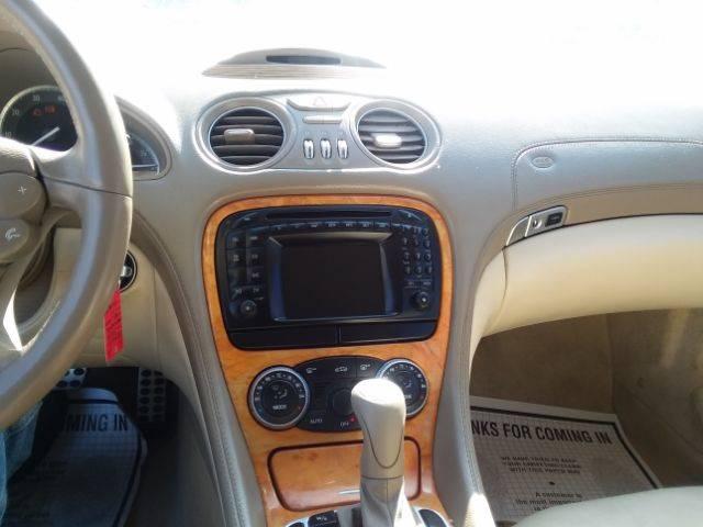 ... 2003 Mercedes Benz SL Class ...