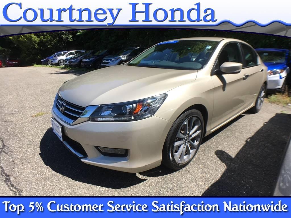 Honda Accord: Customer Service Information