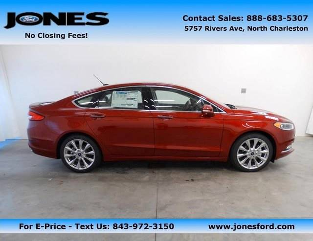 New 2017 Ford Fusion