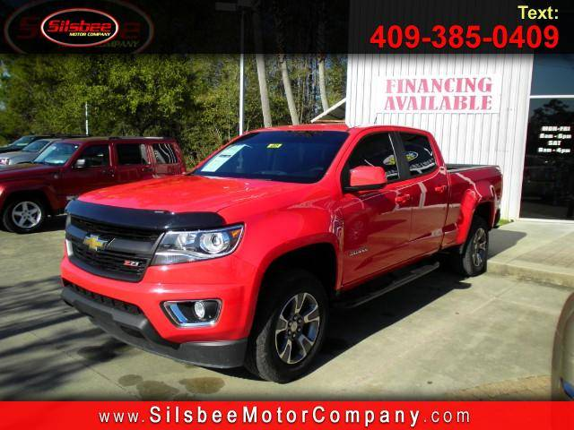 2016 Chevrolet Colorado Z71 Crew Cab 4WD Short Box Truck