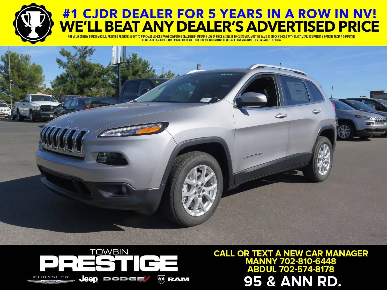New 2018 Jeep Cherokee