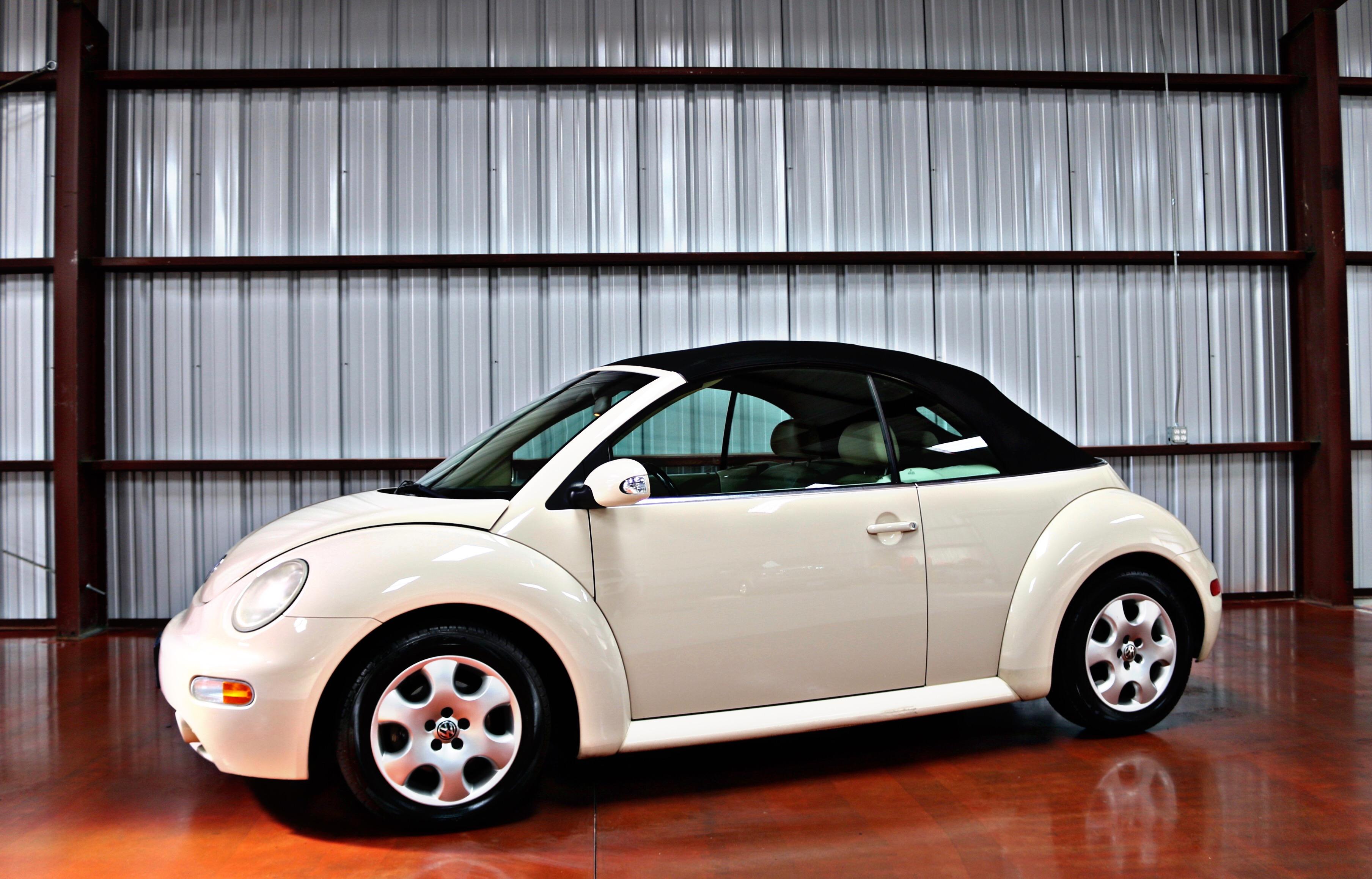 Used 2003 Volkswagen New Beetle Convertible