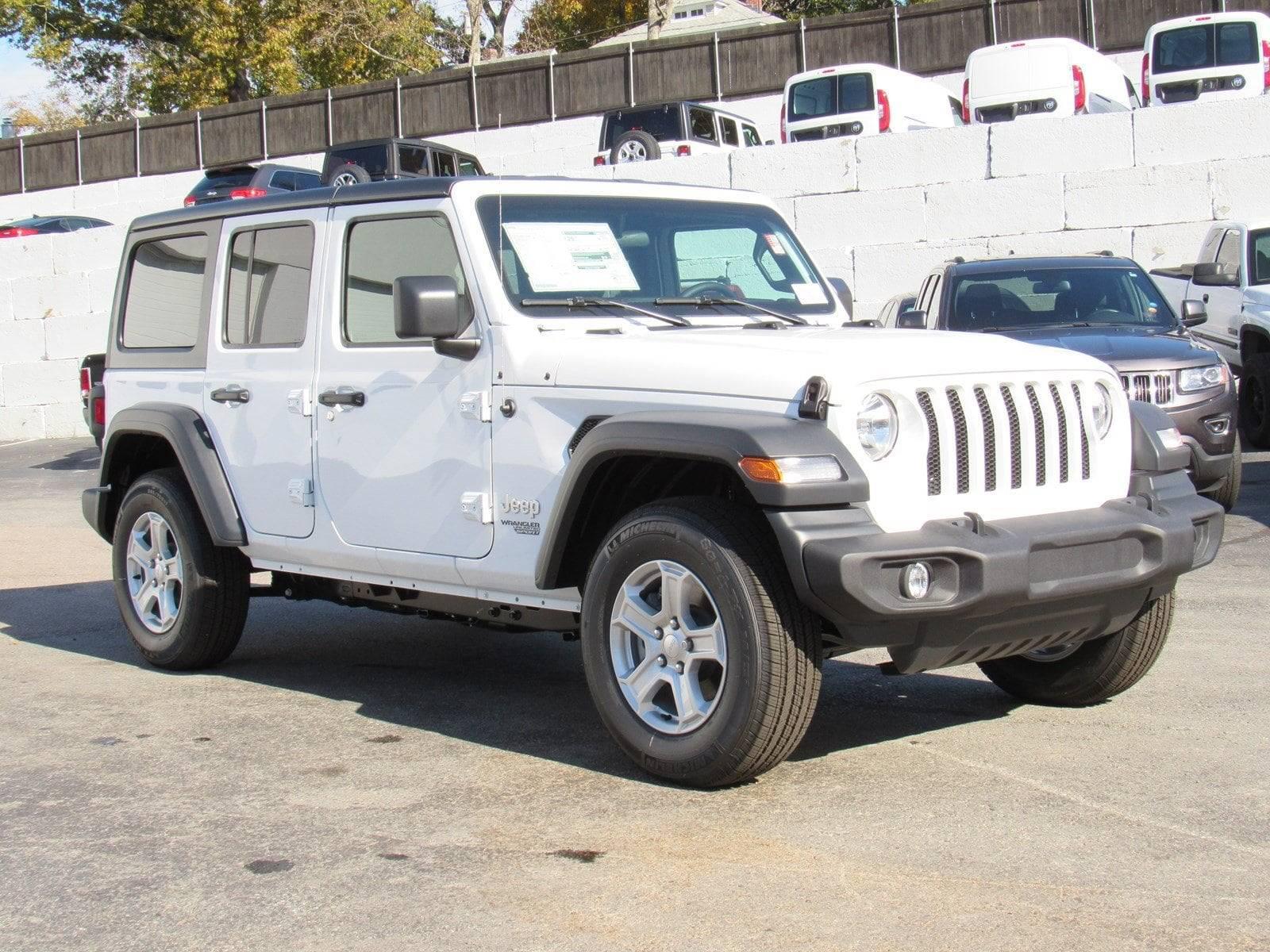 New 2018 Jeep Wrangler