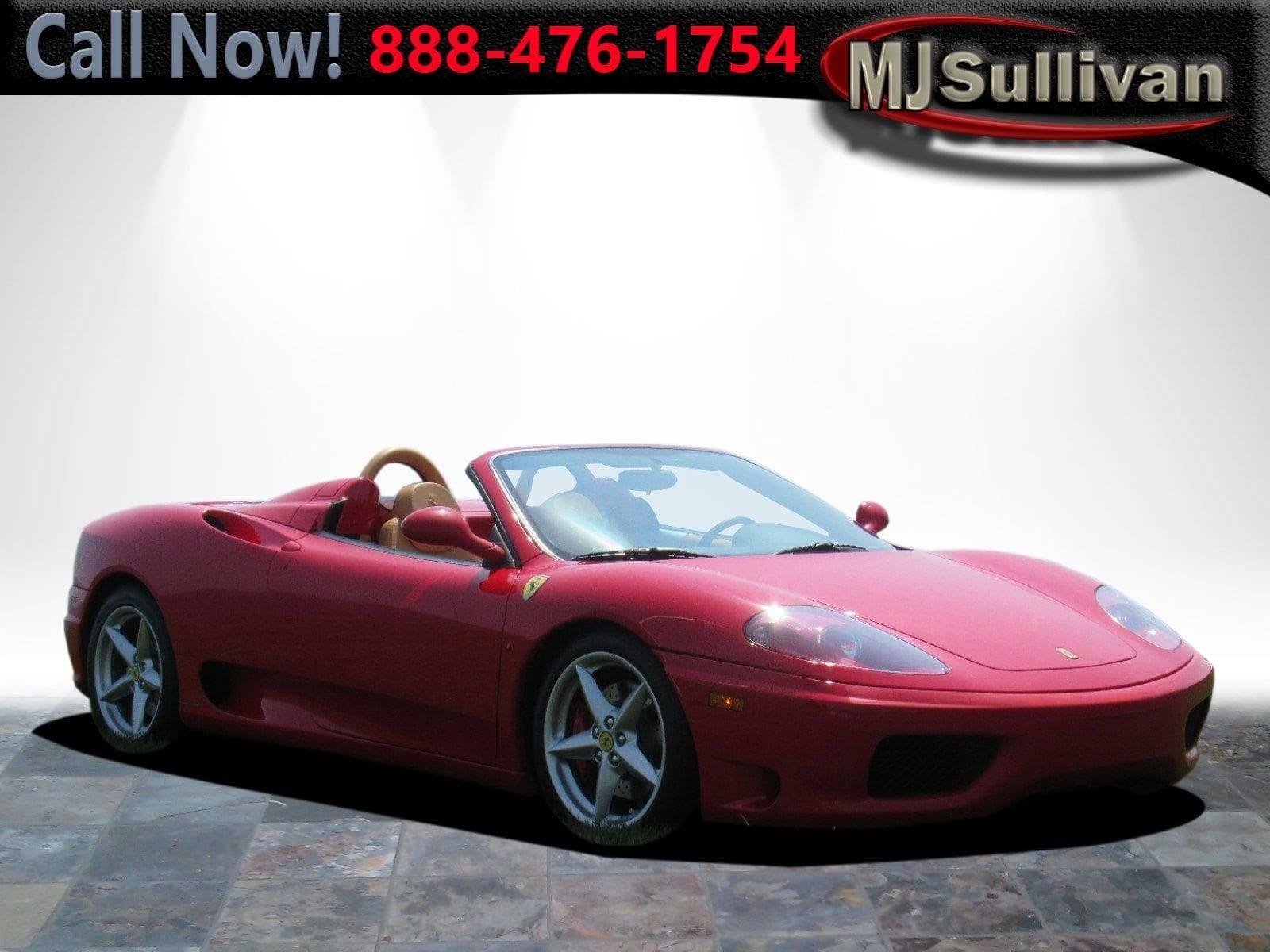 Used 2002 Ferrari 360