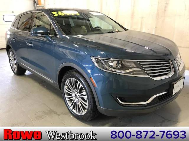 Used 2016 LINCOLN MKX