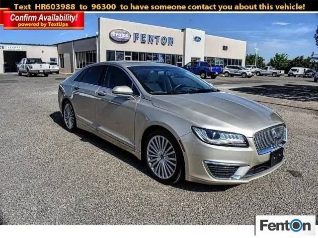 Used 2017 LINCOLN MKZ
