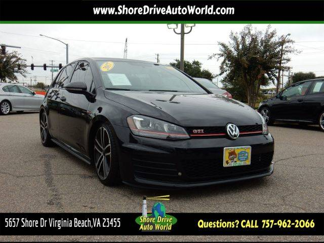 Used 2017 Volkswagen Golf GTI