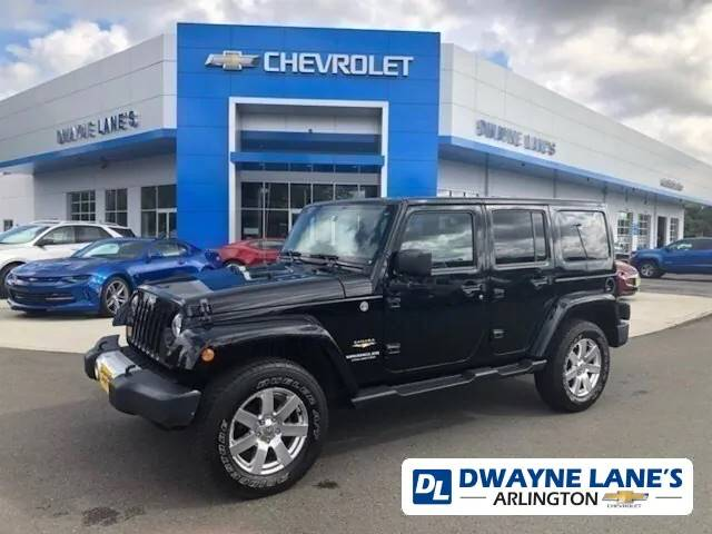 Used 2012 Jeep Wrangler Unlimited