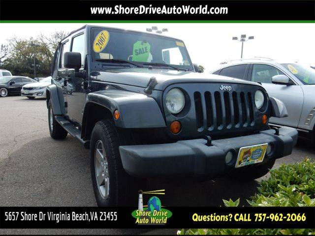 Used 2007 Jeep Wrangler
