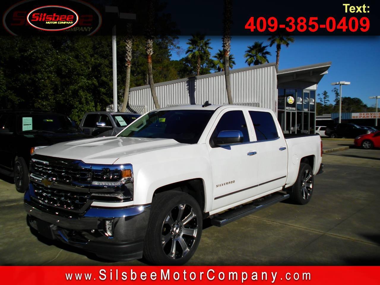 "2017 Chevrolet Silverado 1500 2WD Crew Cab 143.5"" LTZ w/1LZ Truck"