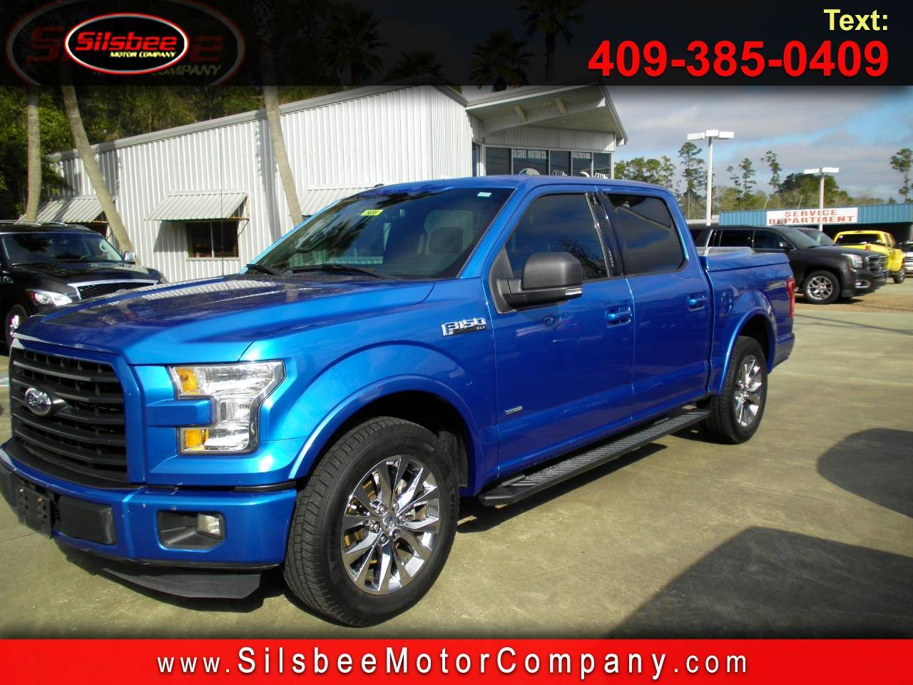 "2015 Ford F-150 2WD SuperCrew 139"" XLT Truck"