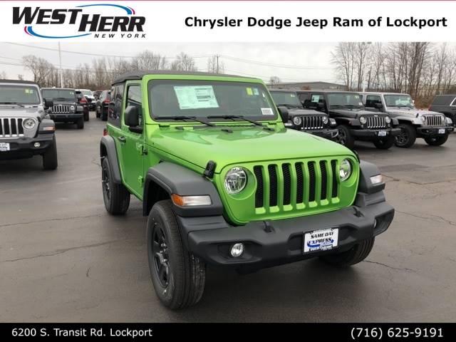 2018 Jeep Wrangler Sport 2D Sport Utility