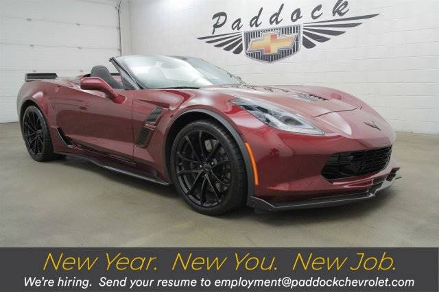 2018 Chevrolet Corvette Grand Sport 3LT Convertible