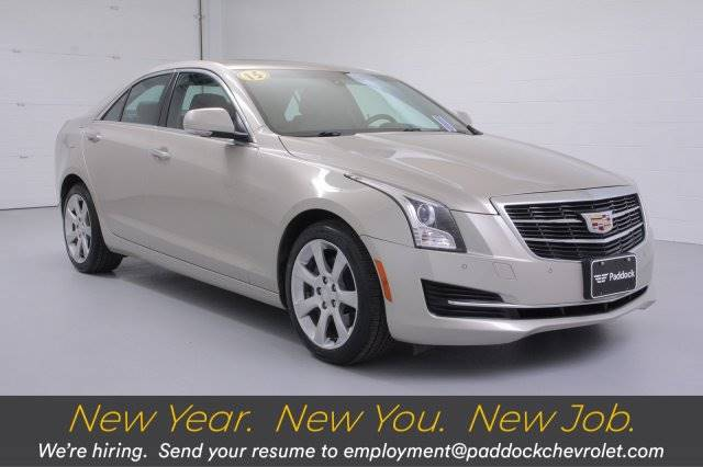 2015 Cadillac ATS Sedan Luxury AWD Sedan