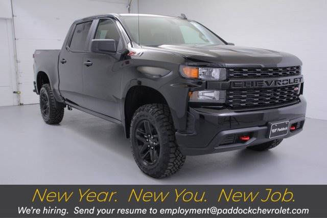 2019 Chevrolet Silverado 1500 Custom Trail Boss Truck